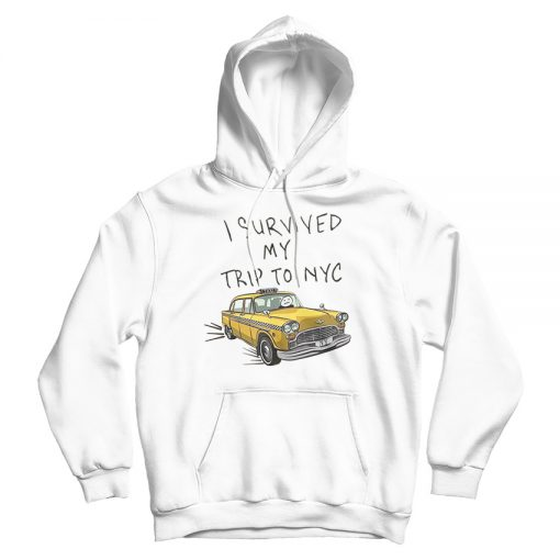 I Survived My Trip To NYC Tom Holland Spider-Man Hoodie
