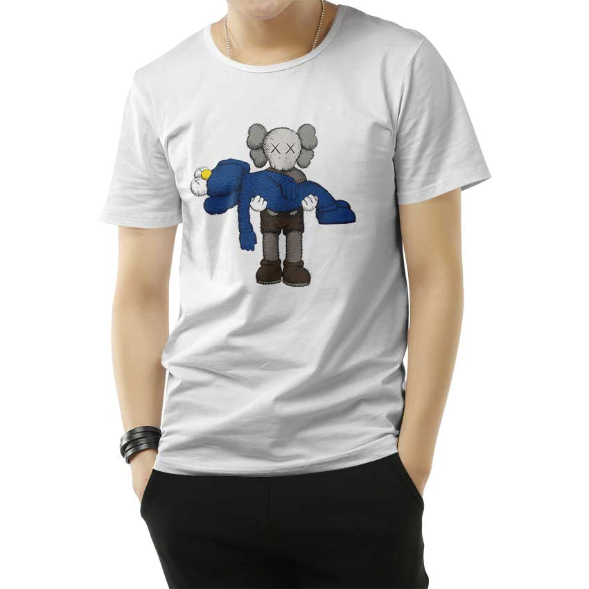 NEW KAWS × UNIQLO UT Summer 2019 Collaboration Companion TEE T-Shirt White
