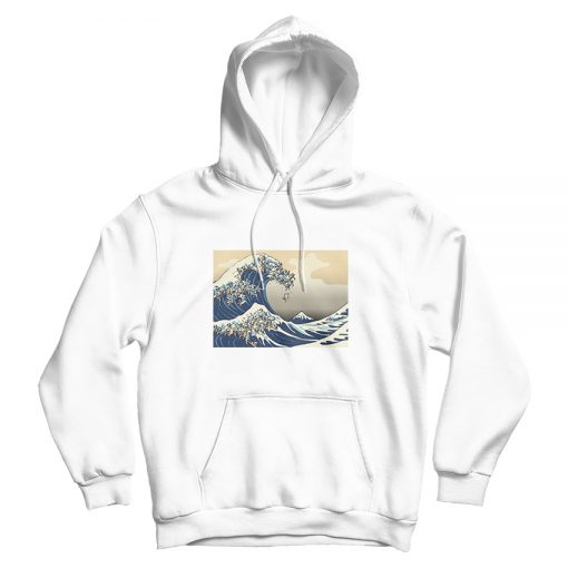 The Great Wave of Pug Hoodie Trendy Clothes
