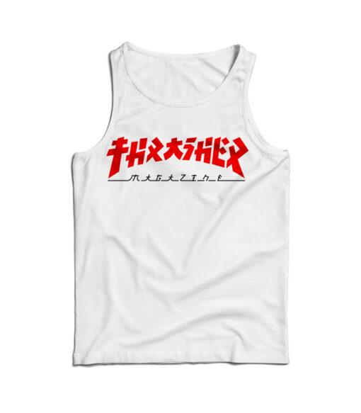 Thrasher Magazine Godzilla Tank Top Trendy Clothes