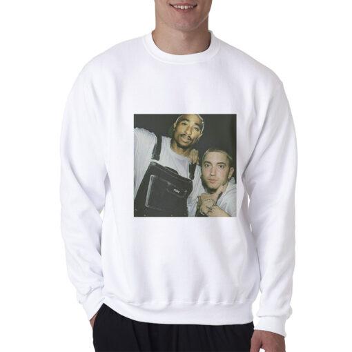 Tupac And Eminem Legend HipHop Rap Sweatshirt