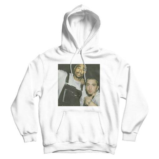 Tupac And Eminem Legend HipHop Rap Hoodie