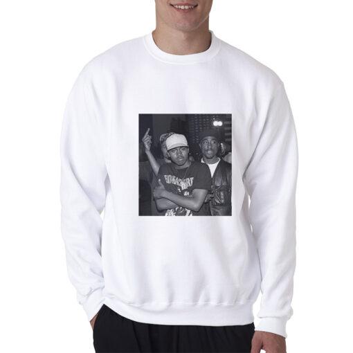 Tupac And Nas Legend Classic Hip Hop Rap Sweatshirt