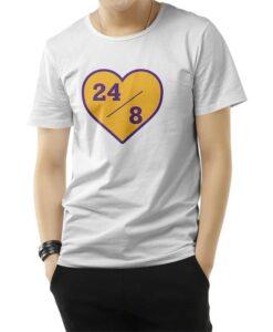 24/8 RIP Kobe Bryant T-Shirt
