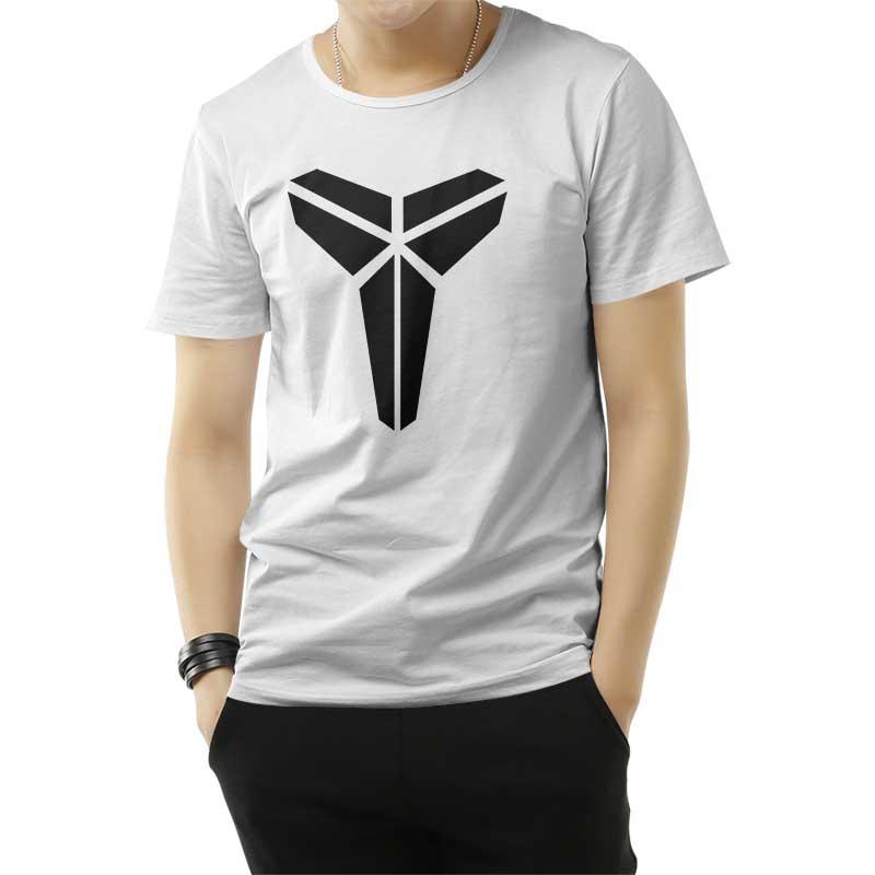 Kobe Bryant Logo Black Mamba T-Shirt